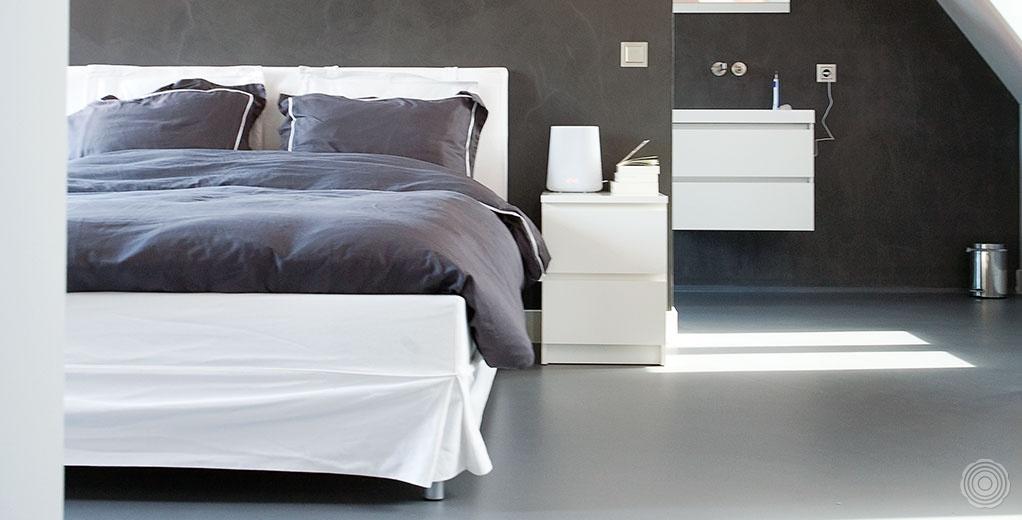 SENSO  Gietvloeren slaapkamers