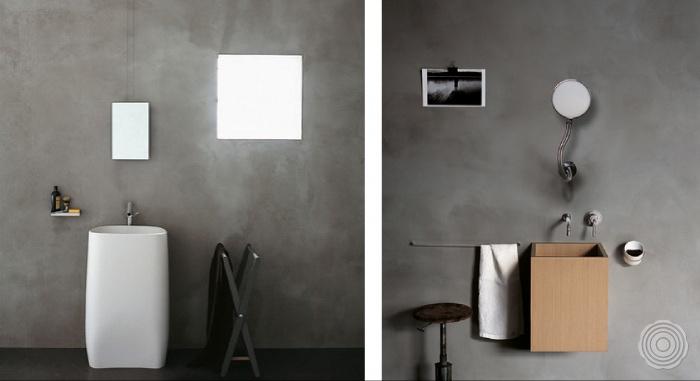 Gietvloer Voor Badkamer : Inspiratie wanden: naadloze wandafwerking senso gietvloeren