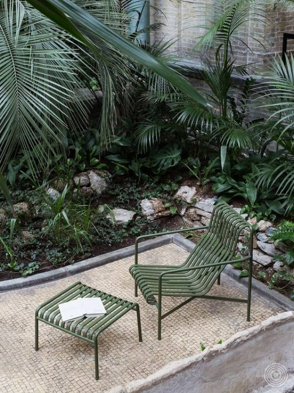 Palissade outdoor furniture by Hay
