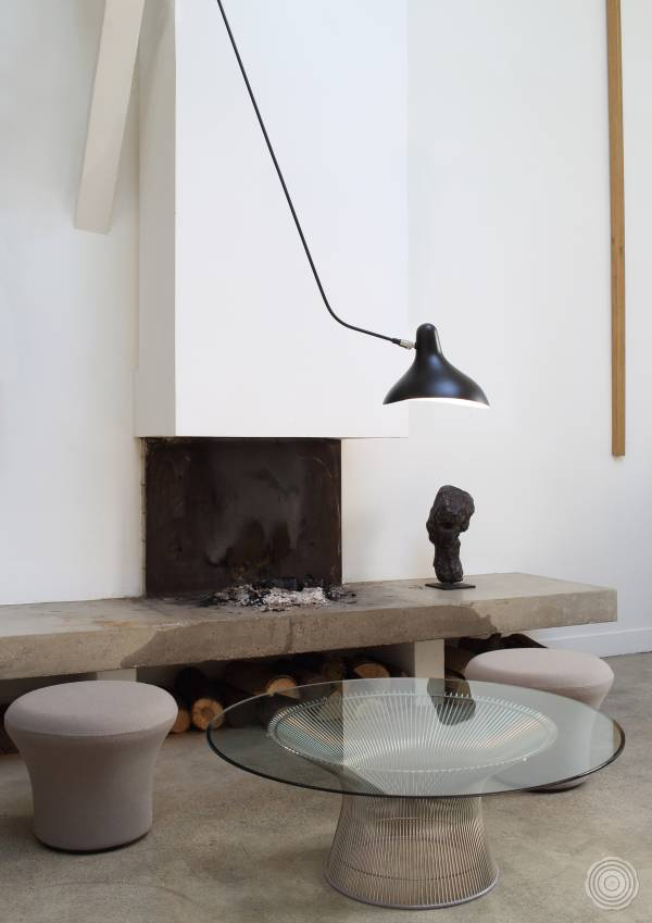 Modernist lighting by Serge Mouille