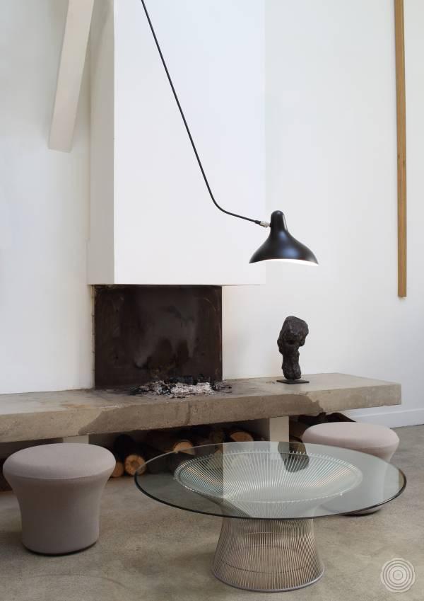 Modernist lighting by Serge Mouille