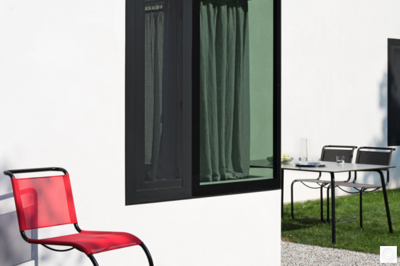 Outdoor furniture by Thonet