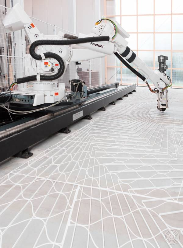 3D printed terrazzo floors