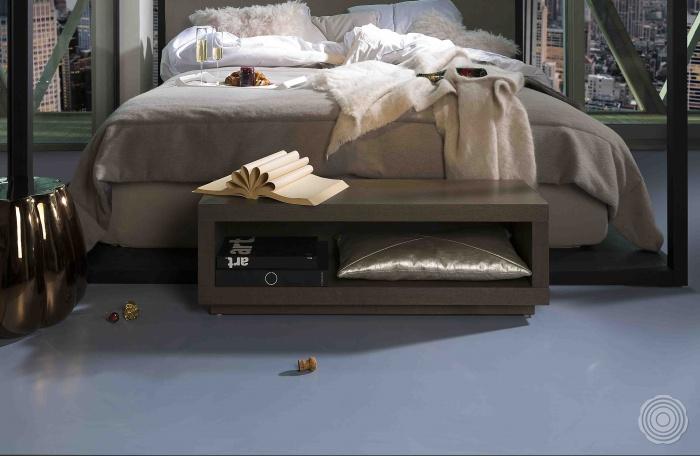 Natural resin floor
