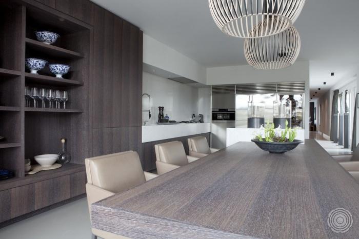 Penthouse door remy meijers senso gietvloeren - Keuken in lengte ...