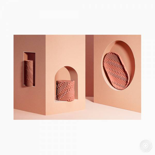 Harringbone Objects by Phil Cuttance