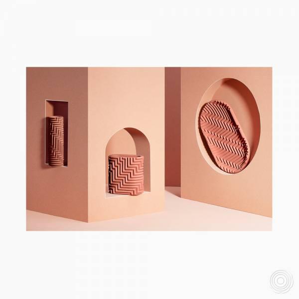 Harringbone Objects by Phil Cuttance
