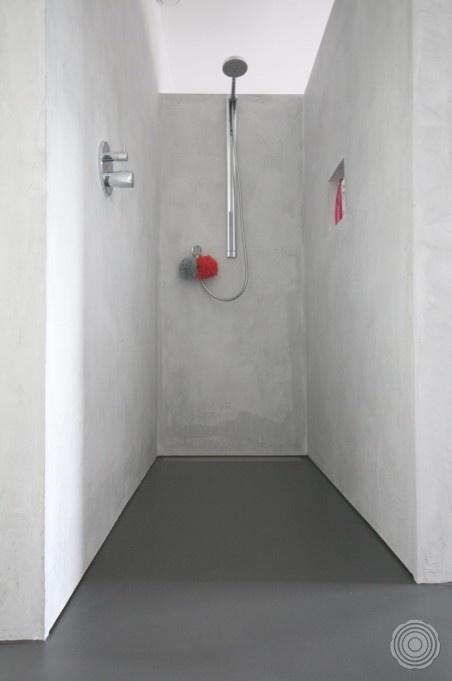 Showroom Badkamer Meubels ~ SENSO  Gietvloer Badkamer