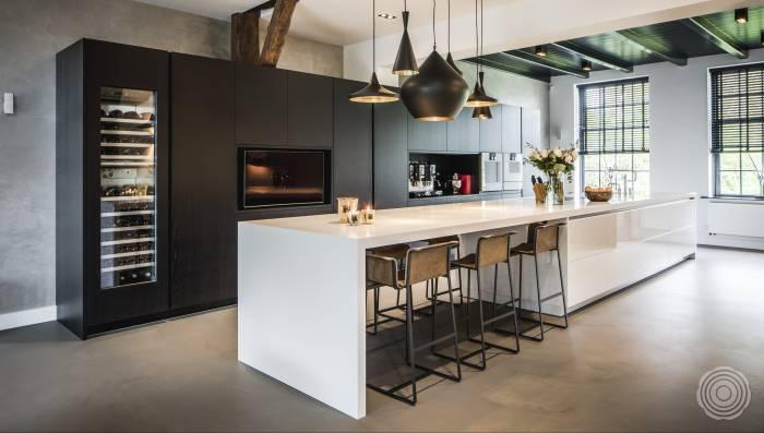 Horeca Vloeren Keuken : Gietvloer keuken: naadloze gietvloeren voor keukens senso