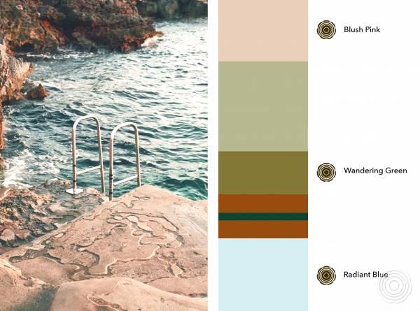 Color scheme Mythical Retreat