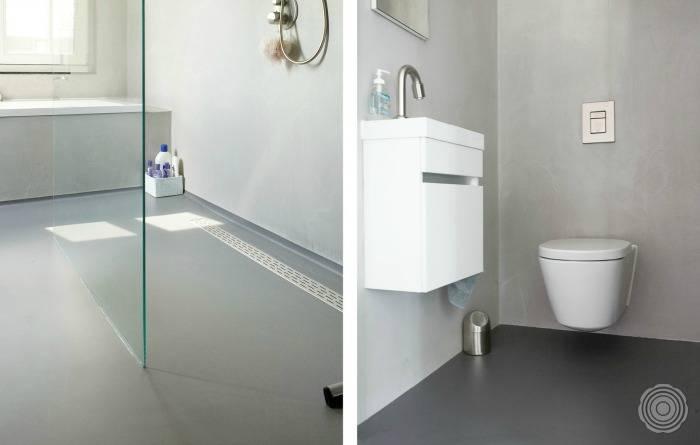 Gietvloer Badkamer Naadloos En Hygienisch Senso Gietvloeren
