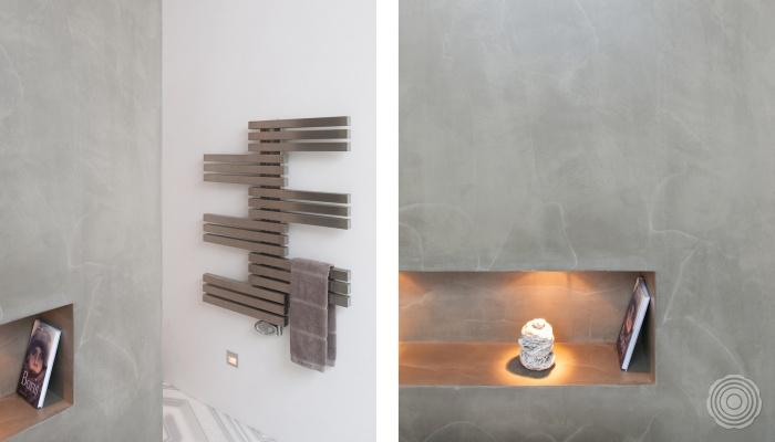 Badkamer Wanden Zonder Tegels : badkamer zonder tegels creeer een ...